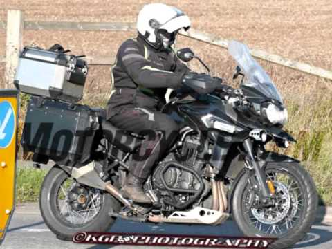 2016 Triumph Tiger Explorer Uncovered In Spy Photos