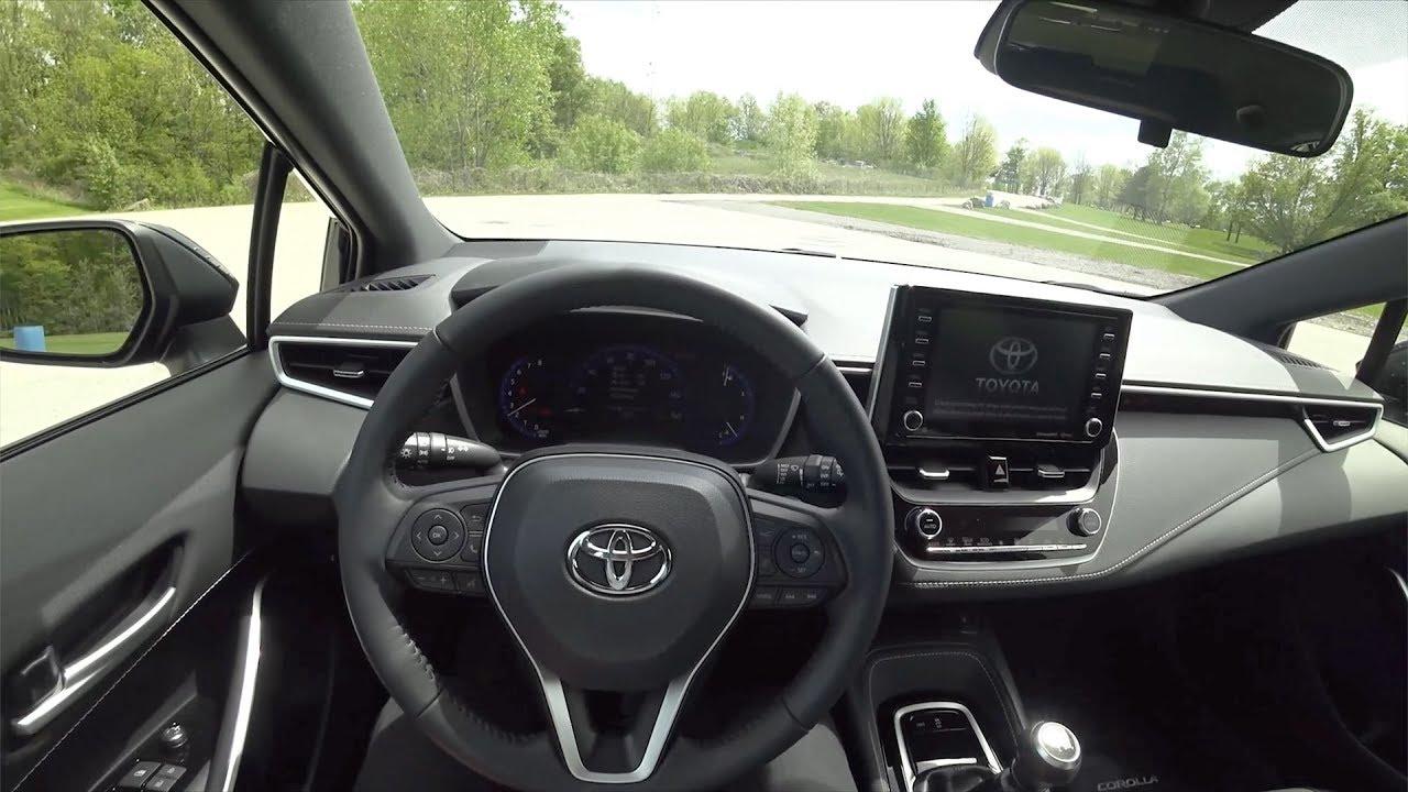 2019 Toyota Corolla Xse Hatchback 6 Speed Pov First Impressions
