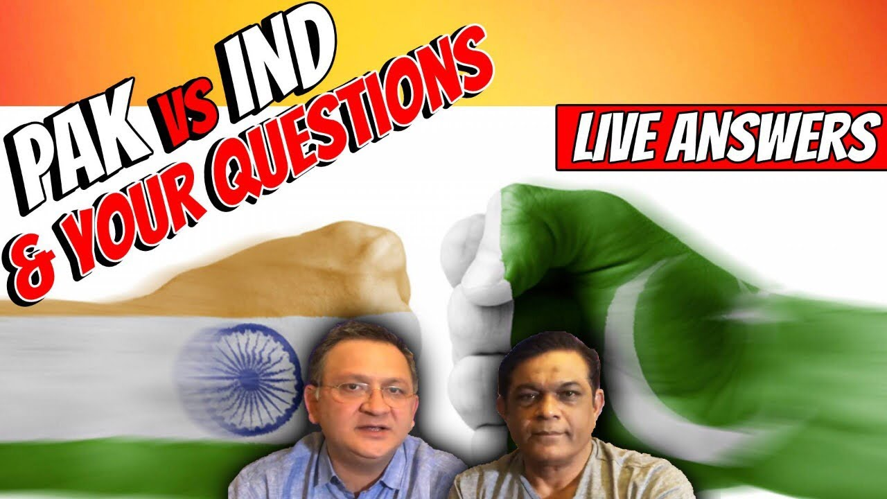 PAK vs IND | Answering LIVE Questions NOW!