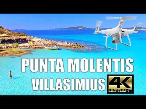 Punta Molentis | Villasimius | Sardegna Drone | Spiagge Sud Sardegna