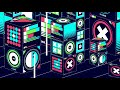 BEST 3D Psychedelic Trance Visuals Trippy Music Mix  NEW 2015