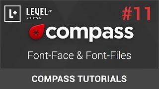 Compass Tutorials #11 - Font-Face & Font-Files