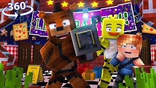 Freddyand39s New Toys - 360° Five Nights At Freddyand39s Vision - Minecraft 360° Vr Video