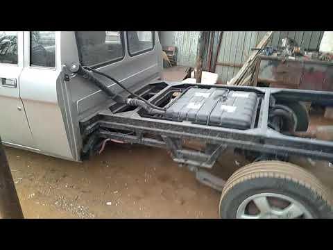 """Газ """"Трофим"""" из Волги носитель модульного авто дома. Производство фургонов  т. 89255181037."""