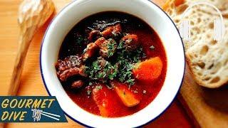 焦糖洋蔥黑啤酒燉牛肉/Caramelized Onions Guinness Beef Stew/飴色玉ねぎとビールビーフシチュー | The Sound Of Food