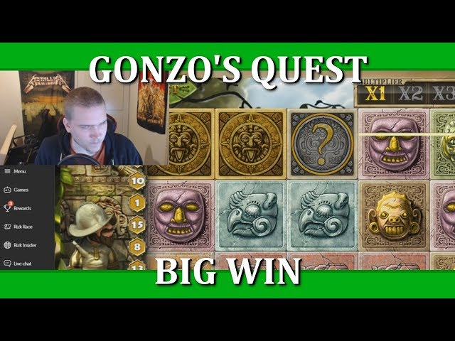BIG WIN - GONZO'S QUEST