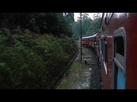 Sri Lanka,ශ්රී ලංකා,Ceylon,Ohiya ඔහිය Train Station Departure South