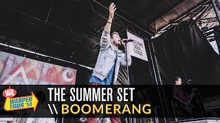 The Summer Set - Boomerang (Live 2014 Vans Warped Tour)