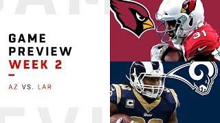 Arizona Cardinals vs. Los Angeles Rams | Week 2 Game Preview | NFL Playbook