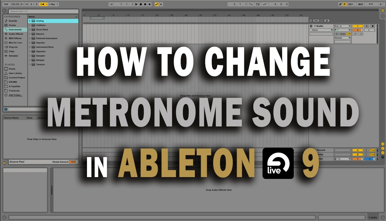 how to hear metronome in ableton live