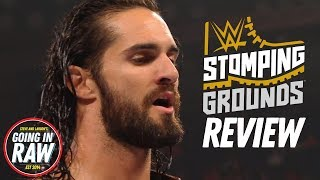WWE Stomping Grounds Full Results amp Review  Going In Raw Podcast