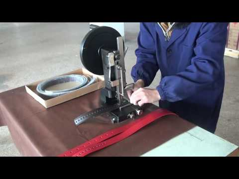 Hand Operated Hole Punching Machine for Leather Belt and Strap