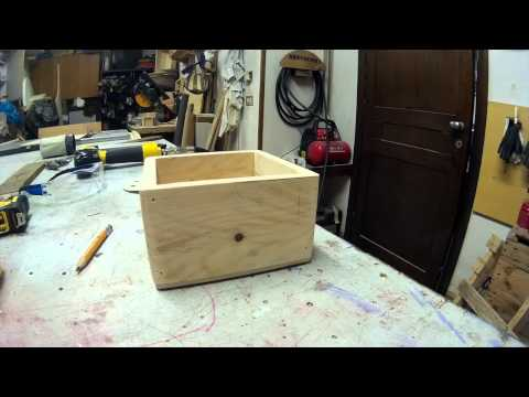 how to make a custom wood box
