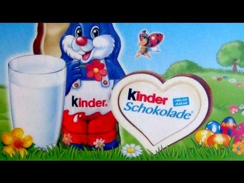 Ferrero Kinder Little Blue Easter Bunnies Vloggest