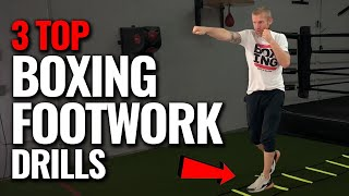 Top 3 BOXING Footwork Drills to Improve you as a BOXER
