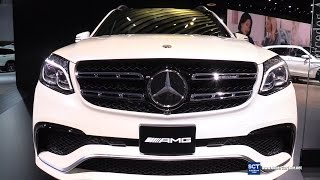2016 Mercedes-AMG GLS 63 AMG V8 BiTurbo -Exterior and Interior Walkaround - 2016 Detroit Auto Show