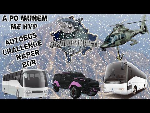 GTA 5 Shqip - Me Autobusa Neper Bor tu Hyp Ne Bjeshk Video Special per Vitin e Ri 4K60FPS - Shqip