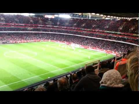Arsenal - Swansea 2. December 2012