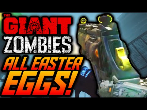 """Black Ops 3 Zombies """"THE GIANT"""" ALL EASTER EGGS GUIDE! ENTIRE EASTER EGG TUTORIAL COMPILATION! (BO3)"""