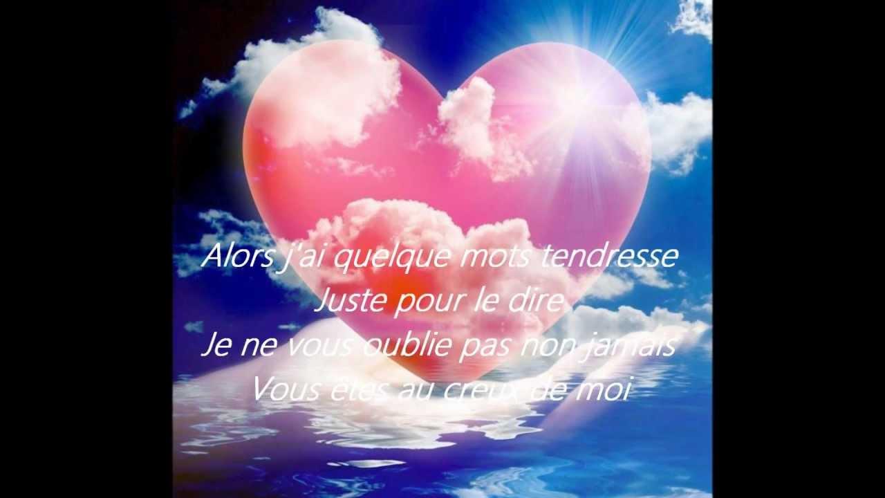 Je Ne Vous Oublie Pas Céline Dion Wmv Youtube