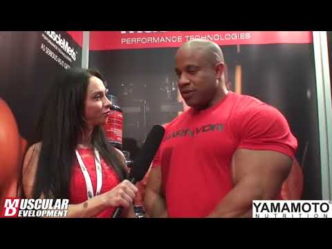 Victor Martinez' Interview with Rosie | IFBB San Marino Pro 2017