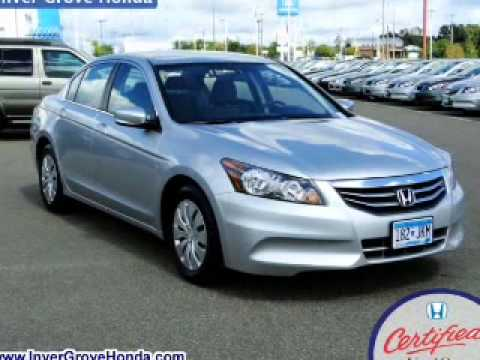 Honda Inver Grove Heights >> 2012 Honda Accord - Inver Grove Heights MN - YouTube