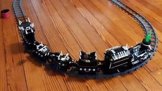 How I made my Lego ghost train run.