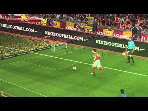 Pes 14 Galatasaray Sabri Sabrıoğlu'ndan Harika Gol