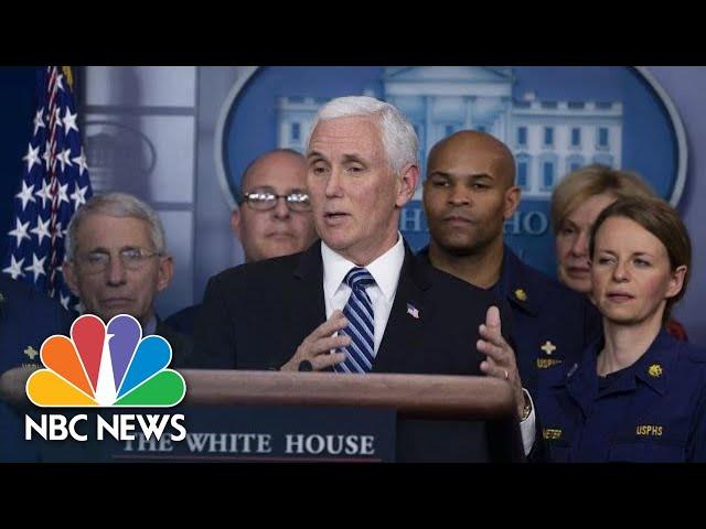 White House Coronavirus Task Force Holds News Conference | NBC News (Live Stream Recording)