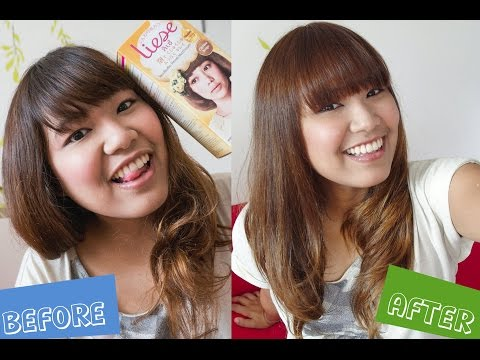 Review Amp How To Liese Bubble Hair Color Chiffon