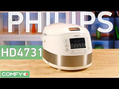 Philips HD473103 - современная мультиварка с широкими возможностями - Видео демонстрация