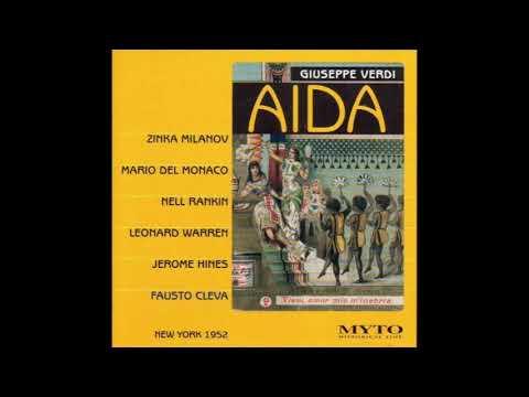 Mario Del Monaco Aida Live 1952 Metropolitan, Audio Remastered