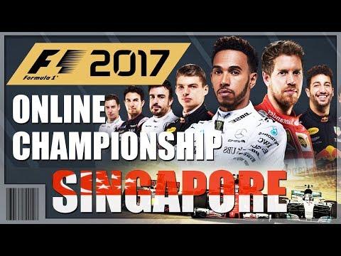 F1 2017 - GIVEAWAY - Online Championship - SINGAPORE (Marina Bay Street Circuit) - PS4