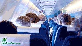 Nejzdravější nápoj na palubě letadla