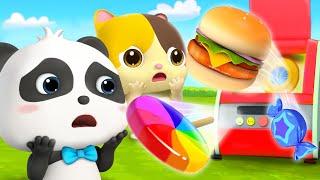スペシャルフードマシン | 赤ちゃんが喜ぶアニメ | 動画 | ベビーバス| BabyBus