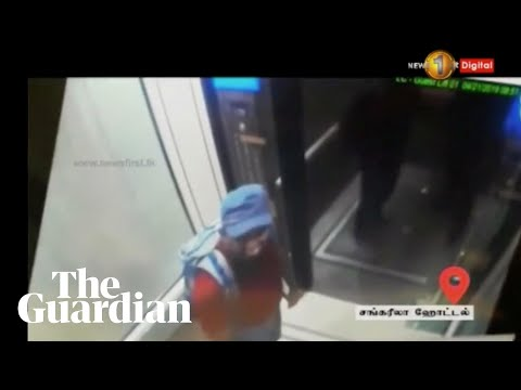 CCTV footage of suspected Sri Lanka bombers released