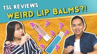 tsl reviews weird lip balm flavours