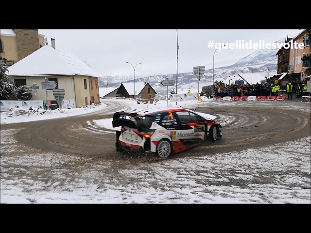 WRC Montecarlo 2018