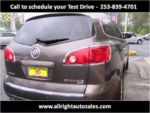 2008 Buick Enclave Used Cars Federal Way WA