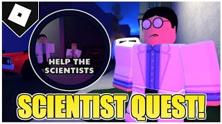 "How to get ""HELP THE SCIENTISTS"" BADGE & QUEST +  ALL 3 SAMPLE LOCATIONS in FIELD TRIP Z! [ROBLOX]"