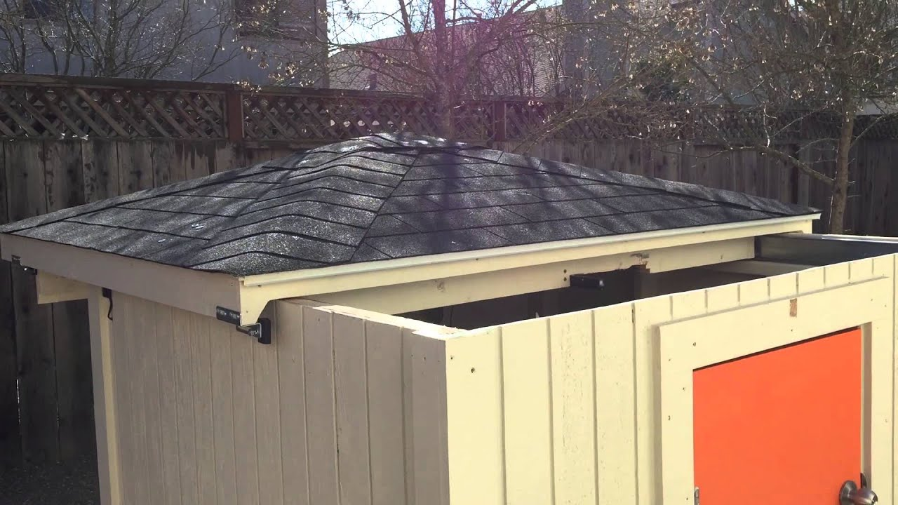 First Automatic Sliding Roof Test Outside View Youtube