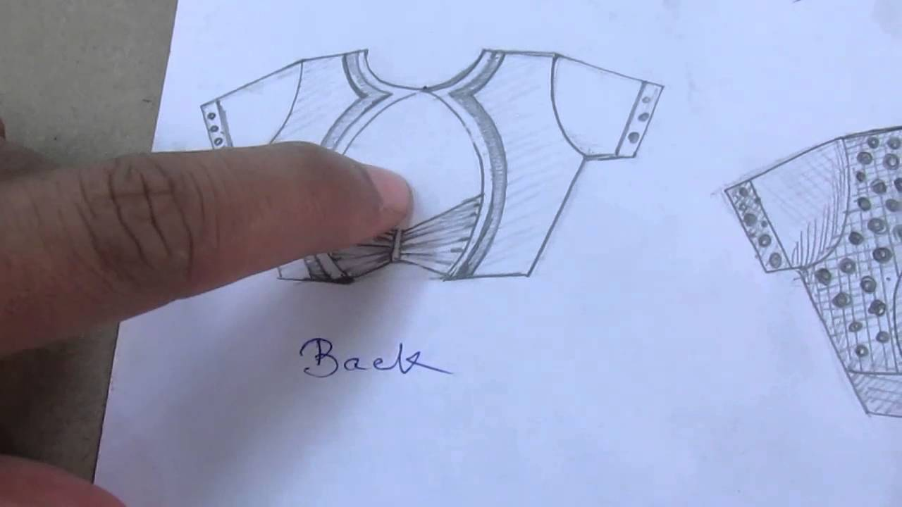 blouse cutting method in tamil | Craft Ideas | Dress ...