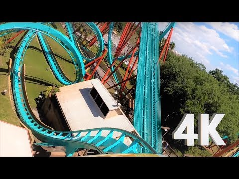Kumba On-Ride, Front Row POV - Busch Gardens Tampa