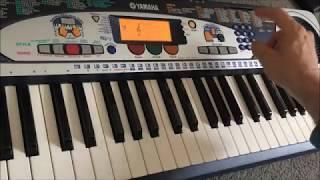 Yamaha PSR-160 DJ keyboard SO FUN!