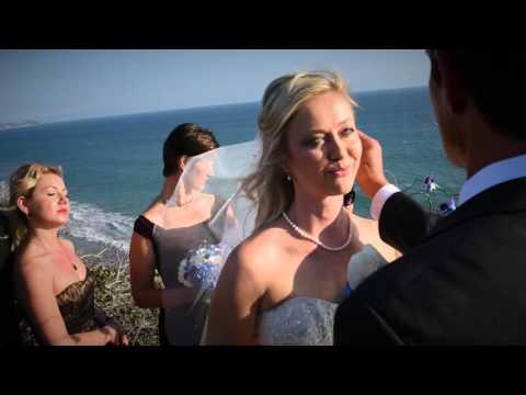 El Matador Beach California Albertson Wedding Chapel Beach Wedding