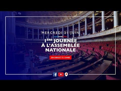 EN DIRECT arrivée à l'Assemblée Nationale |La République en Marche