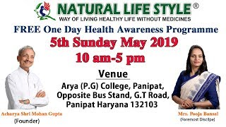 5th May Free Opportunity for 1 day health awareness program 1 Day of your life can change your life