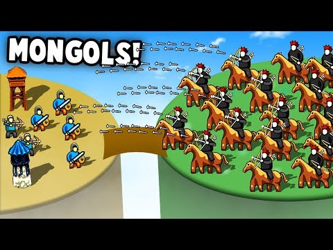 INVASION Of The MONGOLIAN HORDE! Unstoppable Force! (Circle Empires Update Gameplay) |