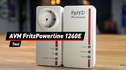AVM FritzPowerline 1260E: Wie gut ist der AVM-Adapter?