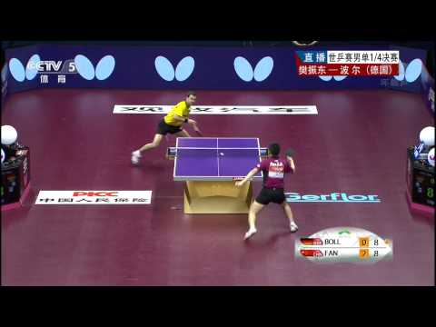 2015 WTTC (Ms-QF) Timo BOLL - FAN Zhendong [HD50fps] [Full Match/Chinese]
